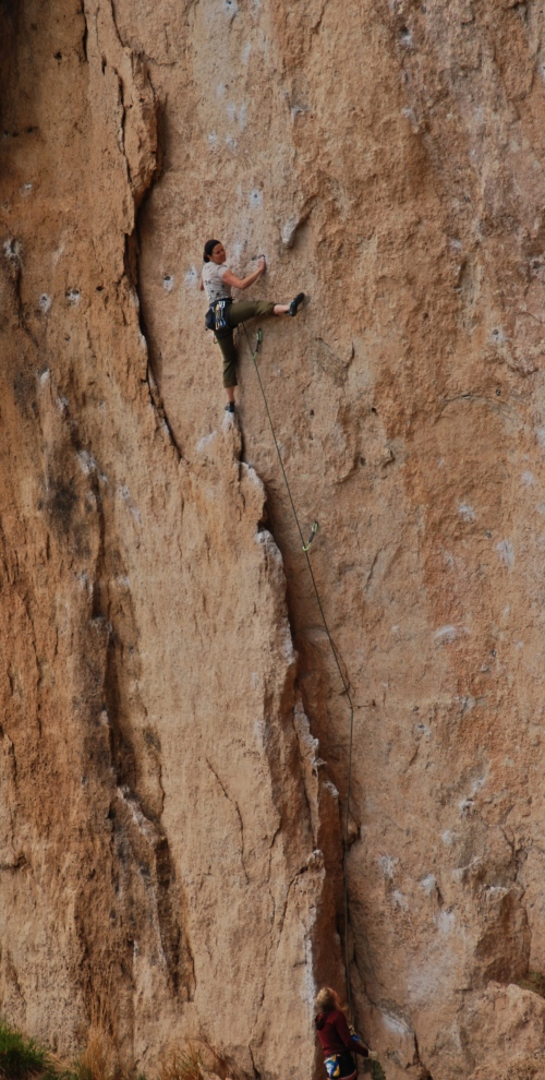 Leslie - Blue Moon 5.12a