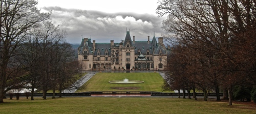 the Biltmore Estate outside Asheville, NC