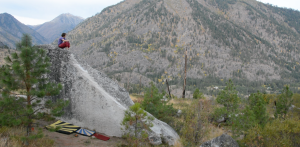 EC - Andy's Arete V5 - Leavenworth