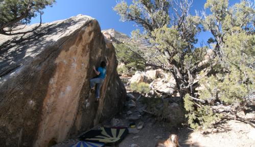 Isosceles V4, Joe's Valley, UT