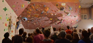Bugh and Inge representing Bozeman at the MBC at Steepworld in Billings